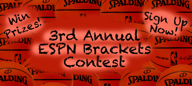 Third Annual IBang ESPN Brackets Contest for March Madness ...